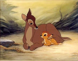 momma and bambi