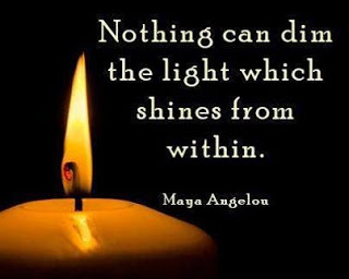 nothing can dim a light