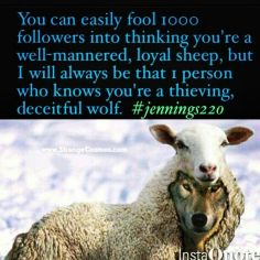wolves in sheep clothing #2