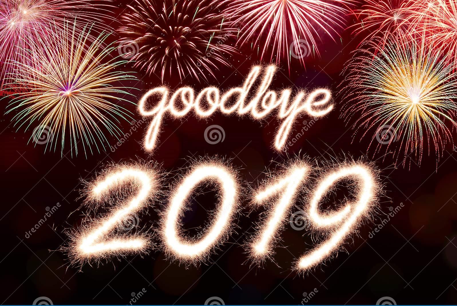 goodbye 2019